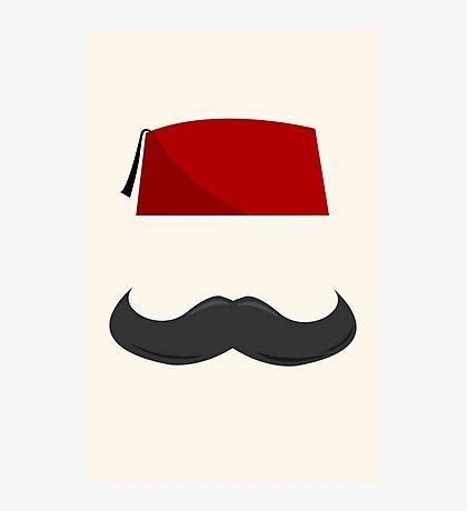 Man with a Fez Photographic Print