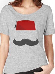 Man with a Fez Women's Relaxed Fit T-Shirt