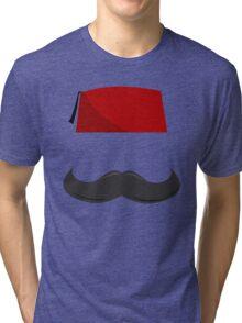 Man with a Fez Tri-blend T-Shirt