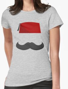 Man with a Fez Womens Fitted T-Shirt
