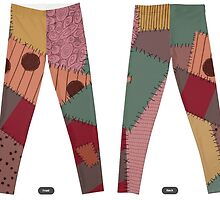 Sally Stitches Autumn Leggings by Cat Vickers-Claesens