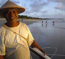 Bali Man by rebecca Lara bartlett