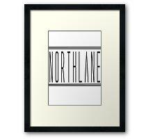 Northlane Logo Merch Design Framed Print