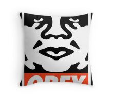 OBEY GIANT - André the Giant  Throw Pillow
