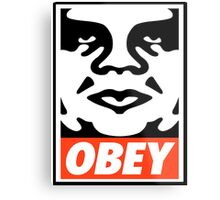 OBEY GIANT - André the Giant  Metal Print