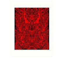 BLOOD RITURAL  (c) CHRISTOPHER STOKES 2002 Art Print