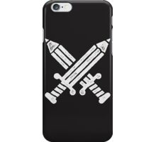 The pen is mightier than the sword iPhone Case/Skin