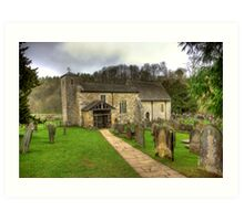 St Gregory's Minster - North Yorkshire Art Print