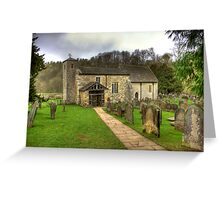 St Gregory's Minster - North Yorkshire Greeting Card