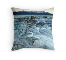 Kaikoura on Ice Throw Pillow