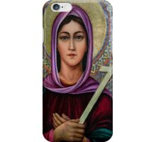 Mother Armenia statue at Victory Park, Yerevan, Armenia iPhone Case/Skin