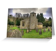 St Gregory's Minster #2 Greeting Card