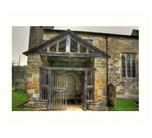 The Entrance St Gregory's Minster Art Print