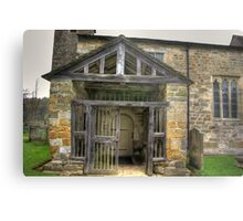 The Entrance St Gregory's Minster Metal Print