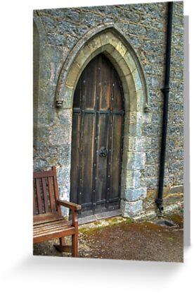 The Door - St Gregory's Minster by Trevor Kersley
