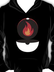 Pokeball - Fire T-Shirt