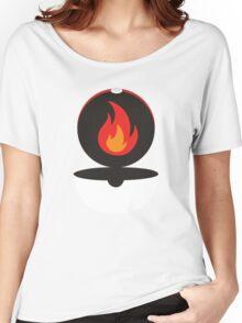 Pokeball - Fire Women's Relaxed Fit T-Shirt