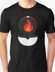 Pokeball - Fire Unisex T-Shirt