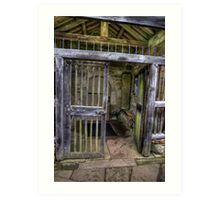 The Gate - St Gregory's Minster Art Print