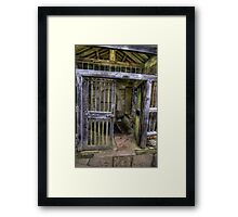The Gate - St Gregory's Minster Framed Print