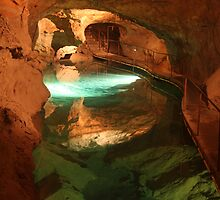 River Cave at Jenolan Caves NSW Australia by Scott Westlake