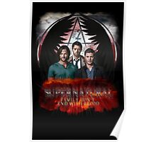 Supernatural Family Dont end with blood Poster