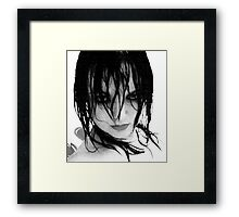 Fury of the storm. Framed Print