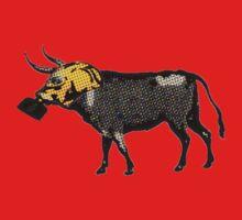 Gas Mask Cow by Gal Lo Leggio