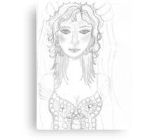 Sorrowful Bride... Canvas Print