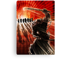 Samurai Showdown- Illustration Canvas Print