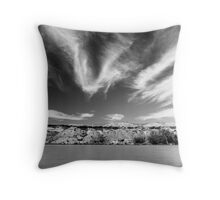 The backyard #2 Throw Pillow