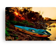 """""""Evening By The Creek"""" Canvas Print"""