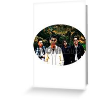 Arctic Monkeys 3 Greeting Card