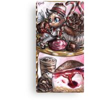 Chibi CandyLord Canvas Print