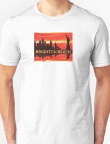Brighton Beach - New York. Unisex T-Shirt