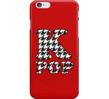 KPOP - BLACK HOUNDSTOOTH iPhone Case/Skin