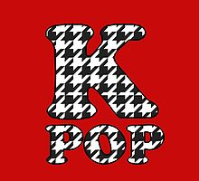 KPOP - BLACK HOUNDSTOOTH by Kpop Seoul Shop