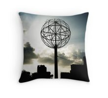 Saigon Skyline Throw Pillow