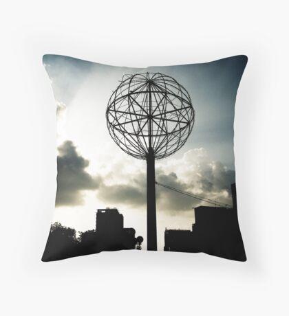 Saigon Skyline Throw Pillow