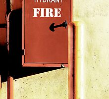 In Case Of Fire! by Michael Kienhuis