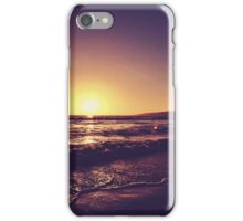 Santa Monica Sunset iPhone Case/Skin