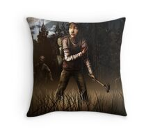 Clementine- The Walking Dead Game Throw Pillow