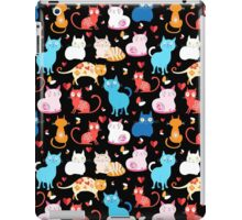 pattern of different cats iPad Case/Skin