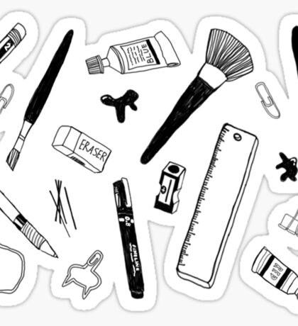 Things I use Sticker
