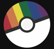 Pokemon 'Prideball' LGBT Pokeball Shirt/Hoodie/etc by RedExorcist