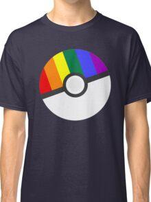 Pokemon 'Prideball' LGBT Pokeball Shirt/Hoodie/etc Classic T-Shirt