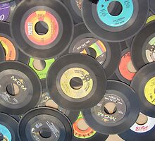 oldies rock n roll records-45's by ssphotoshop
