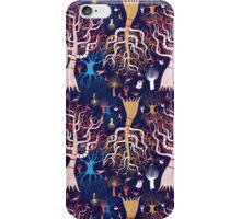 pattern beautiful magical trees iPhone Case/Skin