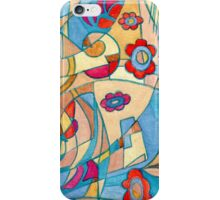 Handcrafted abstraction picture iPhone Case/Skin