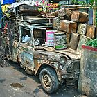 The Battered Pickup  by Rob Hawkins